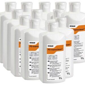 Krachtige handreiniger (12x 1L =12 Liter) Ecolab P3 manoclean 1L