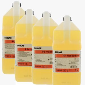 Krachtige handreiniger (4x5L =20 Liter) Voordeelpakket Ecolab P3 manoclean 5L