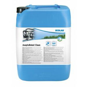 Melkrobot chloorvrij alkalische reiniging - Ecolab Asepto 27kg