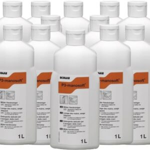Milde handreiniger 12x1L =12 Liter) Voordeelpakket Ecolab P3 Manosoft