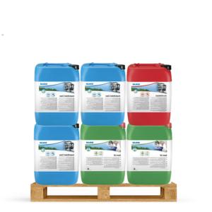Ecolab melkrobot reinigingspakket 6-4-2 o.a. passend voor Lely