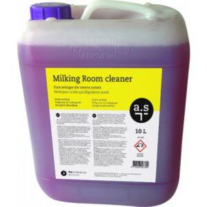 a.s Milking Room Cleaner is een zure reiniger die tevens ontvet.