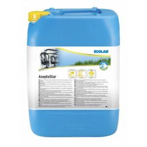 Chloorhoudend Alkalisch Reinigingsmiddel Asepto Star 24 kg