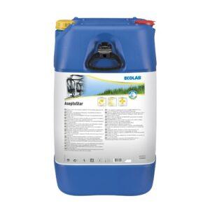 Chloorhoudend Alkalisch Reinigingsmiddel Asepto Star 72 kg