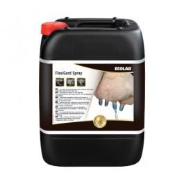Ecolab FlexiGard Spray 21 Kg – Filmvormend nabehandelingsmiddel voor uiers