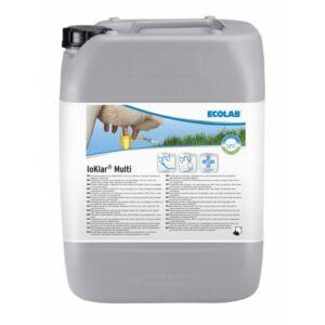 Ecolab IOKlar Multi is een spray- en dipmiddel